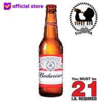 Budweiser Beer American Lager King Of Beers 330 ml Bottle (SATUAN)