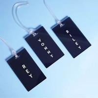 Custom Luggage Tag   Tas Label   Gantungan Koper Nama   Travel Design