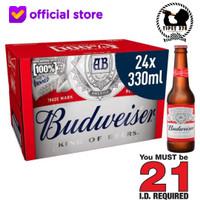 Budweiser Beer American Lager King Of Beers 330 ml X 24 Btl