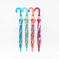 Payung Anak Unicorn / tongkat / dof plastik - 2006