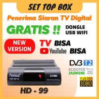 Converter TV Analog Digital TV Tuner STB WiFi Receiver DVB-T2