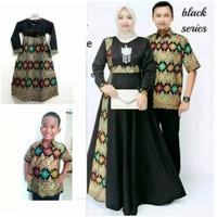 UTG30 - Couple batik keluarga sarimbit family baju seragam pesta ayah