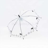 Payung tongkat standart / transparan dof / - 674