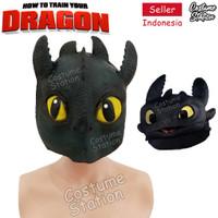 AGT13 - Topeng Toothless Dragon Mask Naga Latex Hewan Binatang Animal