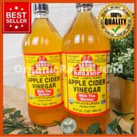 BRAGG Apple Cider Vinegar 946 ml / Cuka Apel BRAGG 946 ml