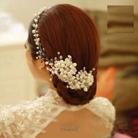 Tiara Sanggul Bridal Modern - Aksesoris Rambut pengantin - TPM 005