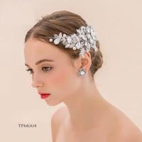 Tiara Sanggul Bridal Modern - Aksesoris Rambut pengantin - TPM 004