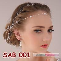 Aksesoris Rambut Sanggul Pengantin Modern l Hiasan Pesta - SAB 001