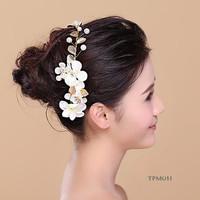 Tiara Sanggul Bridal Modern - Aksesoris Rambut pengantin - TPM 011