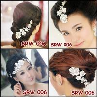 Sirkam Rambut Bridal Modern - Aksesoris Sanggul Modern - SRW 006