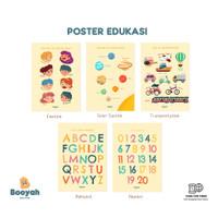 Booyah Baby & Kids - Poster Edukasi Anak