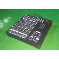 Audio Mixer 6 Channel rakitan dan efect