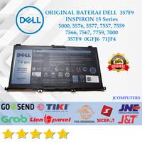 BATERAI DELL 357F9 INSPIRON 15 5577 7557 7559 7567 74WH ORIGINAL
