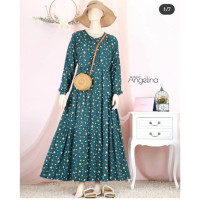 size M bella by dress emerald atelier angelina pansy