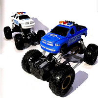 RC JEEP OFF ROAD POLICE 4WD SKALA 1:18RC MONSTER TRUCK POLICE
