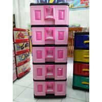lemari plastik napolly spda 5000