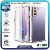 Ringke Samsung Galaxy S21 Fusion Matte Clear Softcase Anti Crack Slim