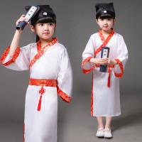 Kostum Baju Sekolah Tradisional China untuk Anak Perempuan
