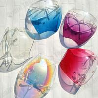 Unisex Kacamata Pelindung Wajah Penuh Bahan Akrilik Polycarbonate