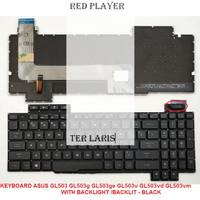 RED*P- KEYBOARD GAMING ASUS ROG STRIX GL503 GL503g GL503ge GL503v
