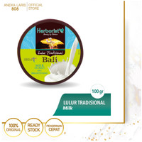 Herborist Lulur Tradisional Bali Milk - 100gr