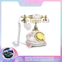 AZ Aurorawell Telepon Putar Gaya Country Vintage Retro Antik