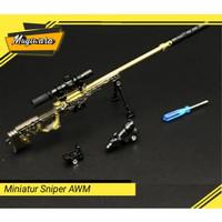 [COD] Miniatur Sniper AWM / Magnum Rakit Size Besar | Mainan PUBG |