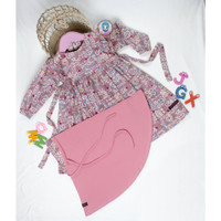 HOT [COD] Gamis Anak Perempuan Baju Pakaian Muslim Bayi Baby Terbaru