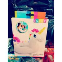 Ban berenang anak motif kuda pony unicorn