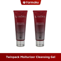 Twin Pack Lanore Moiturizer Cleansing Gel