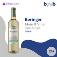 Beringer Main & Vine Pinot Grigio White Wine - 750ml