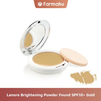 Lanore Brightening Powder Found SPF10+ Gold