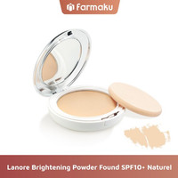 Lanore Brightening Powder Found SPF10+ Naturel