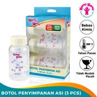 YOUNG YOUNG Botol Penyimpanan Asi 140 ML BPA Free Baby Bottle IL