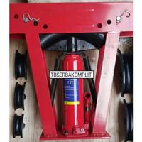 Alat tekuk pipa Besi Stainless Steel SS Hydraulic 12 Ton Pipe bender