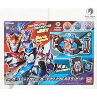 ORI Bandai Ultraman RB R B DX Ultraman RB R B Rube Gyro & RB R B