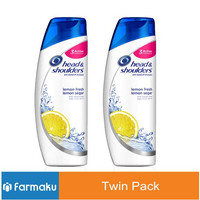TWIN PACK Head & Shoulders Shampoo Lemon Fresh (Anti Dandruff) 300 ml