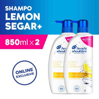 Twin Pack Head & Shoulders Shampoo Lemon Fresh 850 ml Isi 2