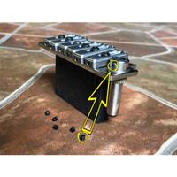 Screw Pengunci Handdle Arm Holder Tremolo Wilkinson Metal Besi Locking