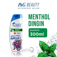 Head & Shoulders Shampoo Cool Menthol FCB 300 ml
