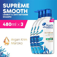 Value Pack Head & Shoulders Shampoo Supreme Smooth 480 ml