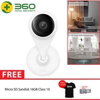 QIHOO AC1C 360 Smart IP Camera CCTV WIFI Night Vision Motion + 16GB