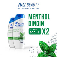 TWIN PACK Head & Shoulders Shampoo Cool Menthol 300 ml
