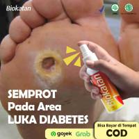 AMPUH Obat Herbal Luka Diabetes Basah/Kering/Melitus/Bernanah BIOKATAN