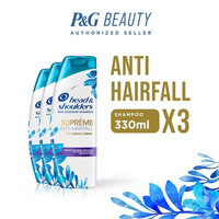 Value Pack Head & Shoulders Shampoo Supreme Anti Hair Fall 330 ml