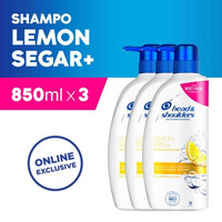 Value Pack Head & Shoulders Shampoo Lemon Fresh 850 ml Isi 3