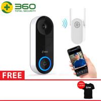 QIHOO D819 360 Smart Doorbell IP Camera CCTV WIFI AI Face Recognition