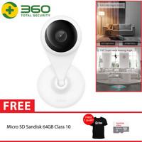 QIHOO AC1C 360 Smart IP Camera CCTV WIFI Night Vision Motion + 64GB