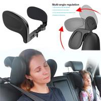 Bantal Travel Tidur Leher Kepala Headrest kursi Mobil Innova Reborn