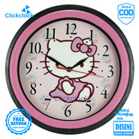 Jam Dinding Quartz Karakter Anak Doraemon Hellokitty Esa 722 Besar